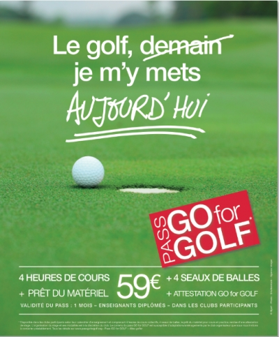 Le Pass Go for Golf !